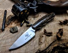 Arno Bernard Knives - Bushbaby Series - Squirrel - Kudu Bone Handles - 1B