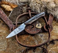 Arno Bernard Knives - Bushbaby Series - Galago - Giraffe Bone Handles - 2A