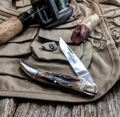 Great Eastern Cutlery - Northfield - Toothpick - Sambar Stag Handles -8