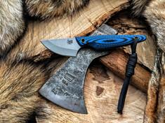 Smith & Sons Knife Company - Shrew - Blue /Black G10 Handles  - AEB-L SS Blade - NEW