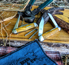 GEC - Tidioute - Stockyard Whittler - Osage Orange Wood Handles - NEW