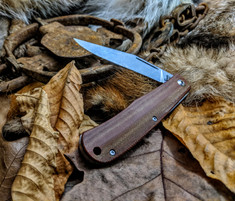 Smith and Sons - LEGACY TRAPPER - Natural Micarta Handles - NEW