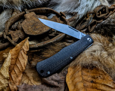 Smith and Sons - LEGACY TRAPPER - Black Carbon Fiber Handles - NEW