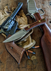 Battle  Horse - Bronco 2   -  Desert Ironwood w/Thin White Liners -3 - Saber Grind - 01 Tool Steel - NEW