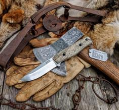 3DK Anchorage Knives  - M.A.K  - Whale  Bone Handles - NEW