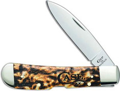 Case  -  Tribal Lock  -  Toasted Colorwash Natural Bone Handles