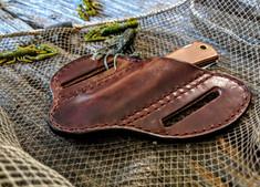 Smith & Sons Knife Company - MudBug  Leather Sheath