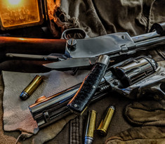 K'ROO CUSTOM BLADES - K'roo Gunstock Clip Jack - Linen Micarta Handles - NEW MODEL