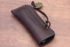Great Eastern Cutlery -  Beer and Sausage Leather Sleeve w/Medallion