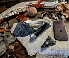 K'ROO CUSTOM BLADES - K'roo Indian River Jack - African Blackwood Handles - NEW
