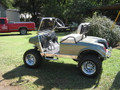 Custom High Performance Club Car Golf Cart