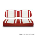 Red and White Extreme Seat Cushions
