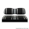 Silver and Black Extreme Seat Covers