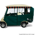 Elite Premium Green Golf Cart Enclosure System