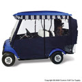 Elite Premium Blue Golf Cart Enclosure System