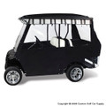 Elite Premium Black Golf Cart Enclosure System