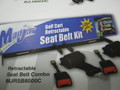 Retractable Seat Belt Kit