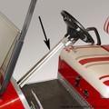 Chrome Steering Wheel Column Cover