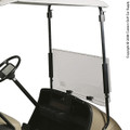 Clear or Tinted Flip Windshield for Yamaha, EZGO or Club Car