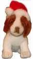 Holiday Plush Pup - Hat