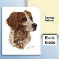 Robert May Brittany Print Note Cards