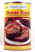 CEDAR LAKE Dinner Steaks 13 oz.