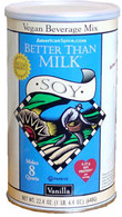 BETTER THAN MILK Soy Vanilla 22.4 oz.