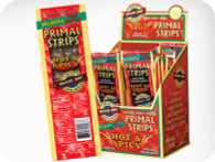PRIMAL STRIPS HOT & SPICY 1 oz