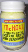 MCKAY'S CHICKEN SEASONING NO MSG 12 oz.