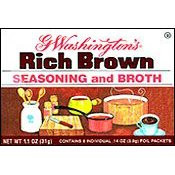 G WASHINGTON'S SEASONING & BROTH BROWN 1 oz