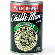 Chilliman Chili, Vegetarian with Beans 15 oz.