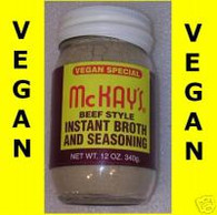 McKAY'S SEASONINGS Beef Vegan Special 12 oz. jar