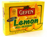 GEFEN LEMON JELLO, 3 oz. PK
