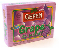 GEFEN GRAPE JELLO, 3 oz. PK