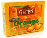 GEFEN ORANGE JELLO, 3 oz. PK