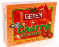GEFEN CHERRY JELLO,  3 oz. PK