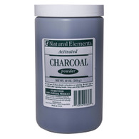 NATURAL ELEMENTS ACTIVATED CHARCOAL POWDER 10oz