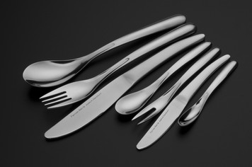 FERRAN ADRIA for Cunill  -  Stainless Steel 7 Piece Flatware Set