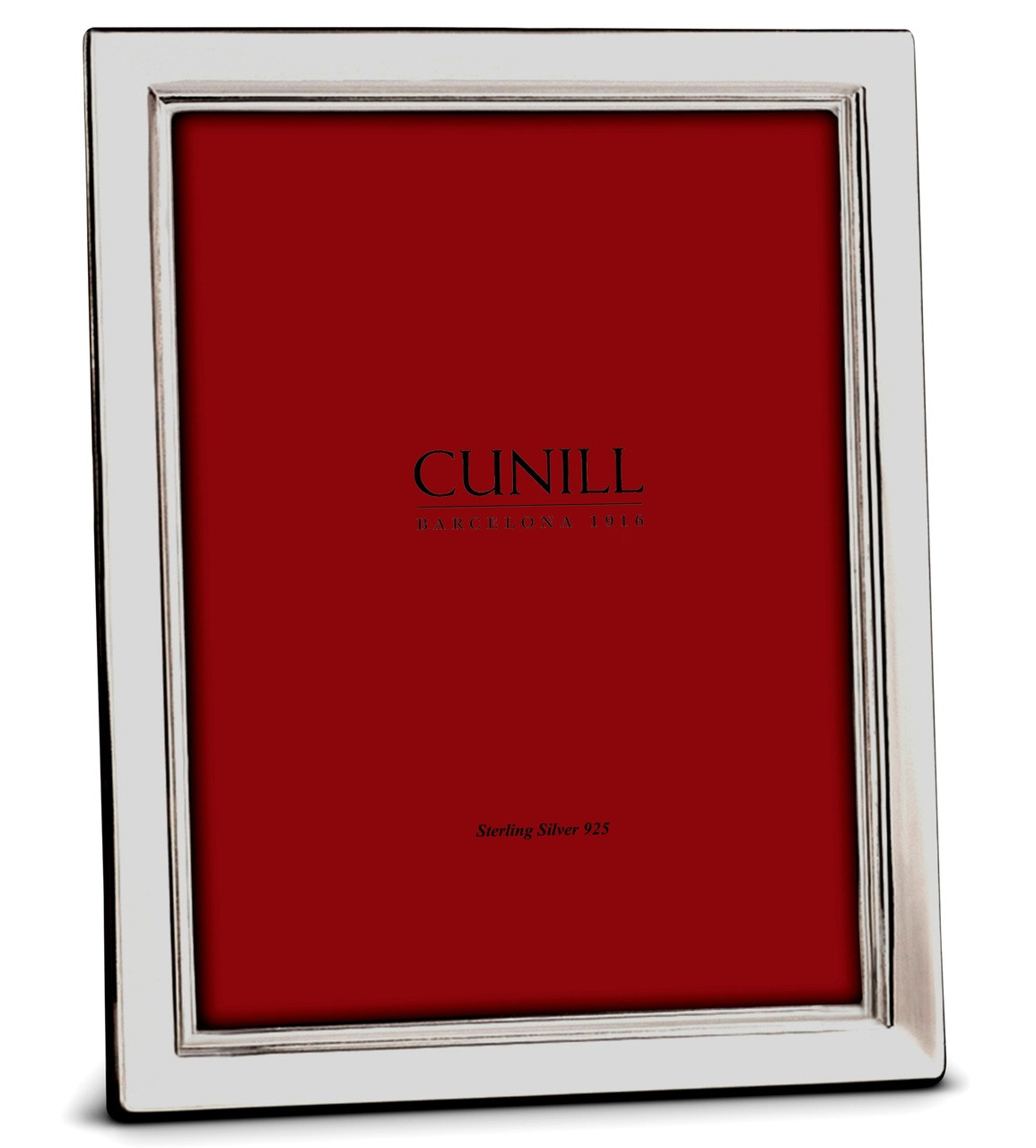 Cunill Sterling Silver Metropolis 5x7 Picture Frame Cunill America