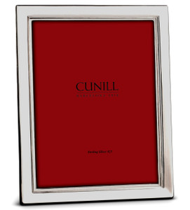 CUNILL Sterling Silver Metropolis 8x10 Picture Frame