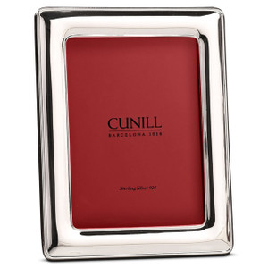 CUNILL Sterling Silver Palacios 8x10 Picture Frame