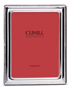 CUNILL Sterling Silver Elegance 5x7 Picture Frame