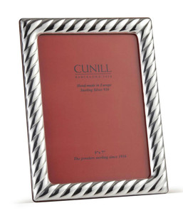 CUNILL Sterling Silver Picasso 4x6 Picture Frame