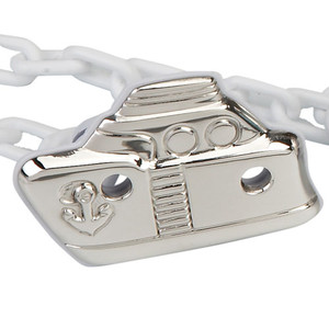 CUNILL Sterling Silver Sailor Baby Pacifier Clip