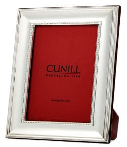 CUNILL Sterling Silver Regal 4x6 Picture Frame