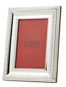 CUNILL Sterling Silver Prestige 4x6 Picture Frame