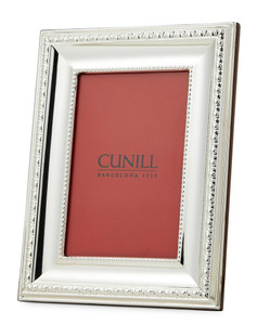 CUNILL Sterling Silver Prestige 5x7 Picture Frame