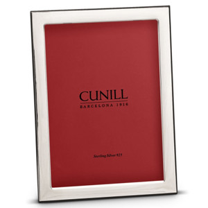 CUNILL Tarnish Proof Sterling Silver Oxford 5x7 Picture Frame