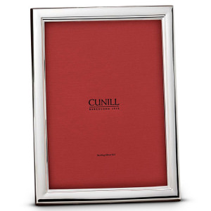 CUNILL Sterling Silver Danube 8x10 Picture Frame