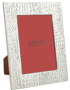 CUNILL Sterling Silver Glades 4x6 Picture Frame